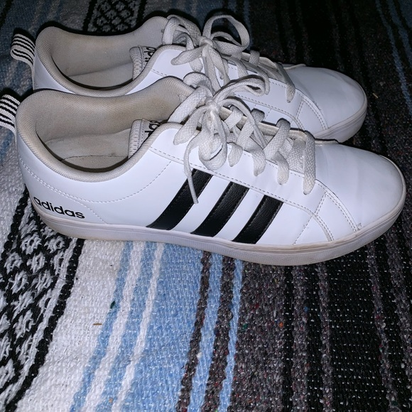 adidas Shoes - white and black adidas shoes